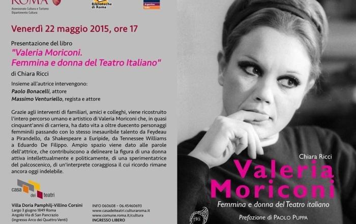 Valeria Morioni. Femmina e donna del Teatro italiano