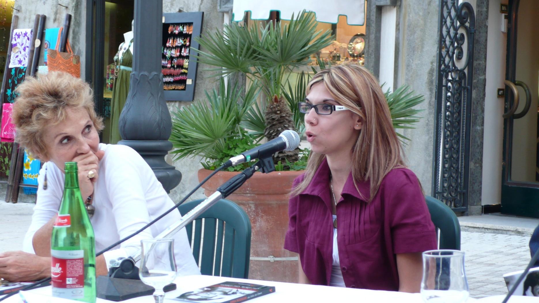 Con Patrizia Carrano