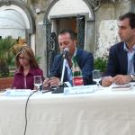 con Patrizia Carrano, Mauro Bruno, Simone Casavecchia (Edizioni Sabinae) (2)