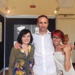 con Angela Cristofaro e Giovanni Della Valle (AG Book Publishing)