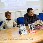 Chiara Ricci e Roberto Parisi al Foggia Film Festival 2014