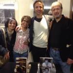 Con Angela Cristofaro e Giovanni Della Valle (AG Book Publishing) e Giorgio Crisafi (attore)