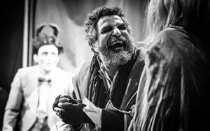"""Mimmo Mangione è """"Enrico IV"""" di Luigi Pirandello (foto di Lorenzo Cambieri)"""