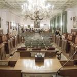 La Sala Consiliare di Palazzo di Città