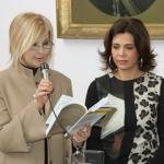 La poetessa Maria Mammola e la pittrice Barbara Spatuzzo