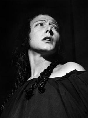 """Lilla Brignone in """"Elettra"""" di Sofocle, regia di Giorgio Strehler (1951)"""