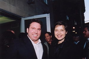Franco D'Alessandro and Isabella Rossellini