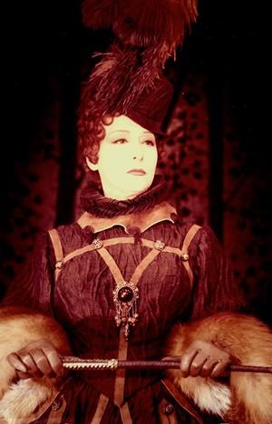 """Lilla Brignone in """"Maria Stuarda"""" di Schiller, regia di Luigi Squarzina (1964)"""