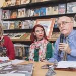 Maria Grazia Salpietro, Chiara Ricci e il Direttore Artistico di Raito Libri Francesco Grillo