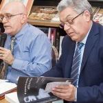 Francesco Grillo e lo scrittore Vito Pinto