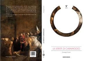 """Cover fronte-retro de """"La verità di Caravaggio"""" di Giuseppe Fornari (Nomos Edizioni)"""