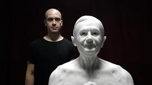 """Habemus Hominem: il giovane scultore e """"Social Artist"""" Jago in mostra a Roma"""