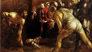 """""""Il seppellimento di Santa Cecilia"""" di Caravaggio (1608)"""