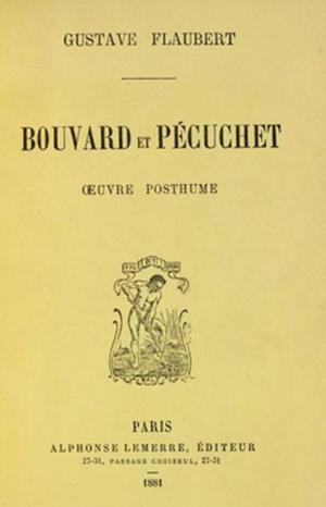 """""""Bouvard et Pécuchet"""" (Alphonse Lemerre, Parigi 1881)"""