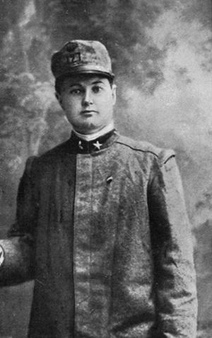 Luigia Ciappi, arruolata nel 127° Reggimento Fanteria (1894 - 1969)