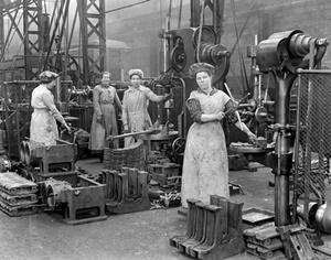 Le operaie durante la Prima guerra mondiale