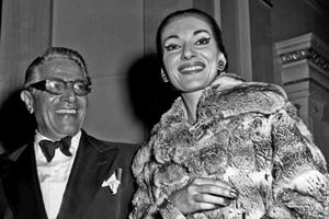 "Maria Callas e Aristotele ""Aristo"" Onassis"