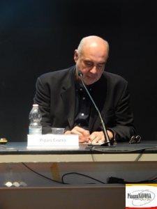 Peppe Ciorra, curatore della mostra (Ph. Chiara Ricci)
