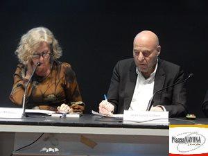 Giovanna Melandri e Jean-Louis Cohen (Ph. Chiara Ricci)