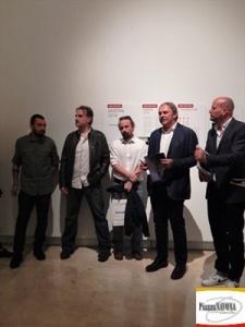 Francesco Pistilli, Fausto Poderini, Alessio Mammo, Francesco Azzizola e Lars Boering (Ph. Chiara Ricci)