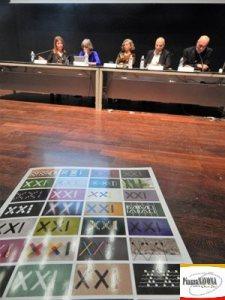 La conferenza stampa (Ph. Chiara Ricci)