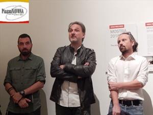 Francesco Pistilli, Fausto Poderini e Alessio Mammo (Ph. Chiara Ricci)