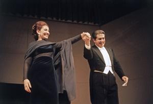 Maria Callas e Giuseppe Di Stefano