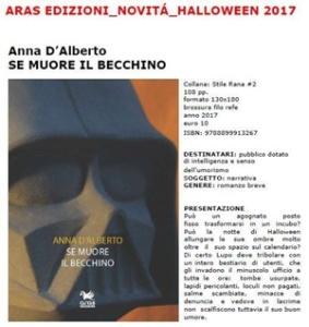 """La scheda di """"Se muore il becchino"""" di Anna D'Alberto (Aras Edizioni)"""