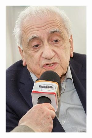 Il Professor Francesco Sabatini (Ph. Gino Aloisio)