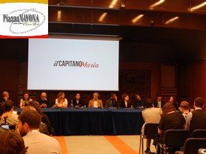 """La conferenza stampa de """"Il Capitano Maria"""" (Ph. Chiara Ricci)"""