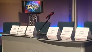 La conferenza stampa sta per iniziare (Ph. Gino Aloisio)