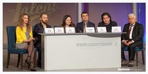 La conferenza stampa (Ph. Gino Aloisio)