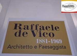 """La mostra """"Raffaele de Vico (1881-1969). Architetto e paesaggista"""" (Chiara Ricci)"""