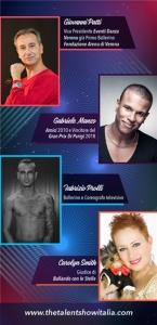 """La Giuria Internazionale di """"The Talent Show Italia"""""""