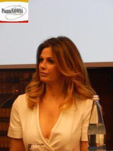 """Vanessa Incontrada all conferenza stampa de """"Il Capitano Maria"""" (Ph. Chiara Ricci)"""