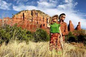Majella & Ted Turner. (Ph. Kelly Cappelli)