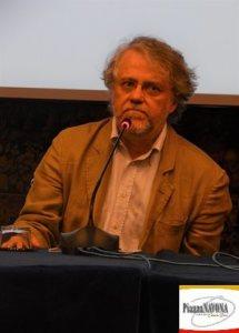 """Il regista Andrea Porporati alla conferenza stampa de """"Il Capitano Maria"""" (Ph. Chiara Ricci)"""