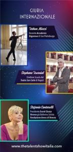 La Giuria Internazionale di The Talent Show Italia