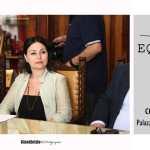 La Giurata Maria Valeria Ruggiero (Rodaviva) e l'Artista cavese Annamaria Panariello (Ph. Gino Aloisio)