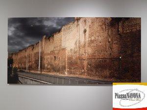 Le Mura aureliane lungo il Viale del Policlinico (Ph. Chiara Ricci)