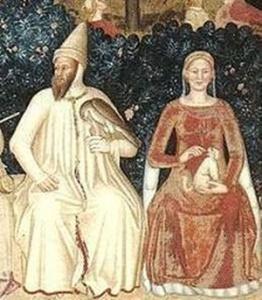 Bernabò Visconti e Beatrice Della Scala