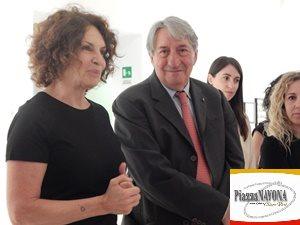 Donata Pizzi durante la conferenza stampa (Ph. Chiara Ricci)