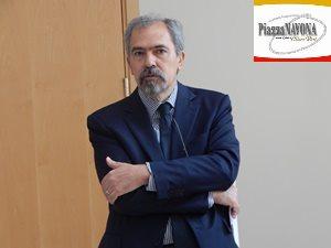 Claudio Parisi Presicce, ideatore della mostra (Ph. Chiara Ricci)
