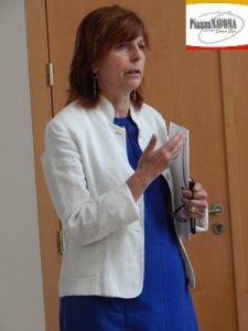 Ombretta Rossini, curatrice della mostra (Ph. Chiara Ricci)