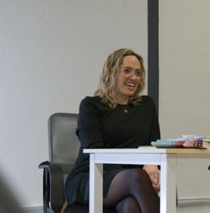 La scrittrice Annalisa Baldinelli