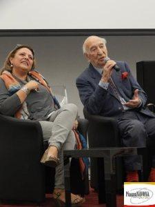 Silvia Giulietti e Giuliano Montaldo (Ph. Chiara Ricci)