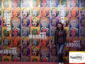 """La scrittrice Chiara Ricci all'anteprima stampa della mostra """"Andy Warhole"""" tenutasi presso il Complesso del Vittoriano - Ala Brasini"""