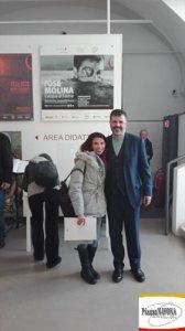 Chiara Ricci e Josè Molina (Ph. Incontri d'Arte di PIAZZA NAVONA)