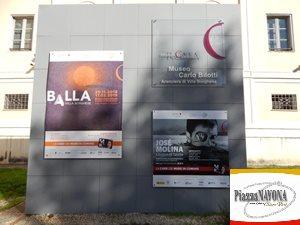 Josè Molina al Museo Carlo Bilotti (Ph. Chiara Ricci)