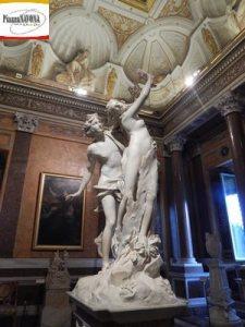 Apollo e Dafne di Gian Lorenzo Bernini, 1622-1625 (Ph. Chiara Ricci)
